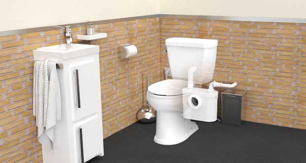 Poser Un Wc Broyeur : Les 7 Règles À Respecter | Sdbpro encequiconcerne Toilettes Sanibroyeur