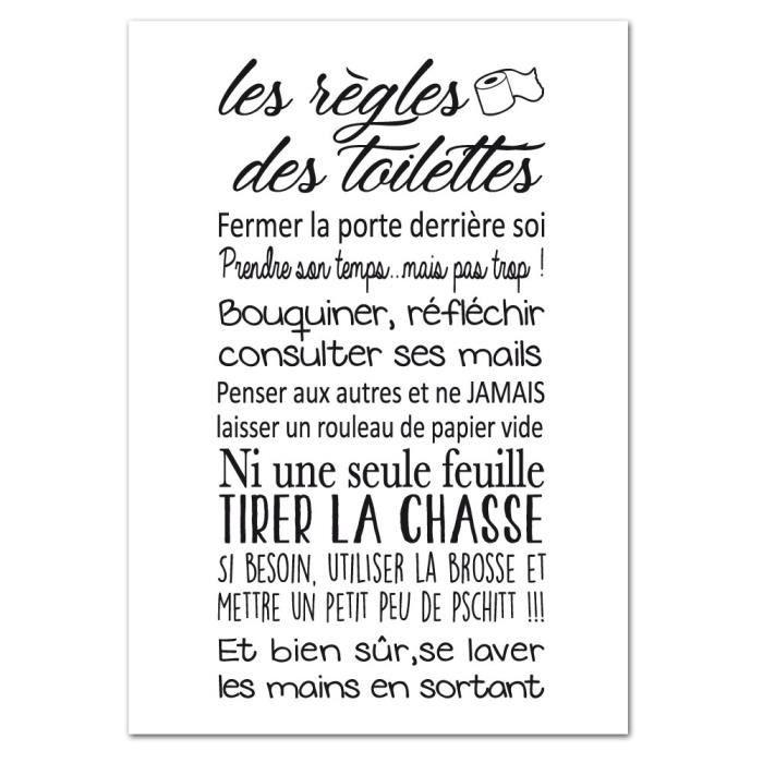 Poster Toilette Achat Vente Pas Cher Encequiconcerne Affiche Toilettes Propres Agencecormierdelauniere Com