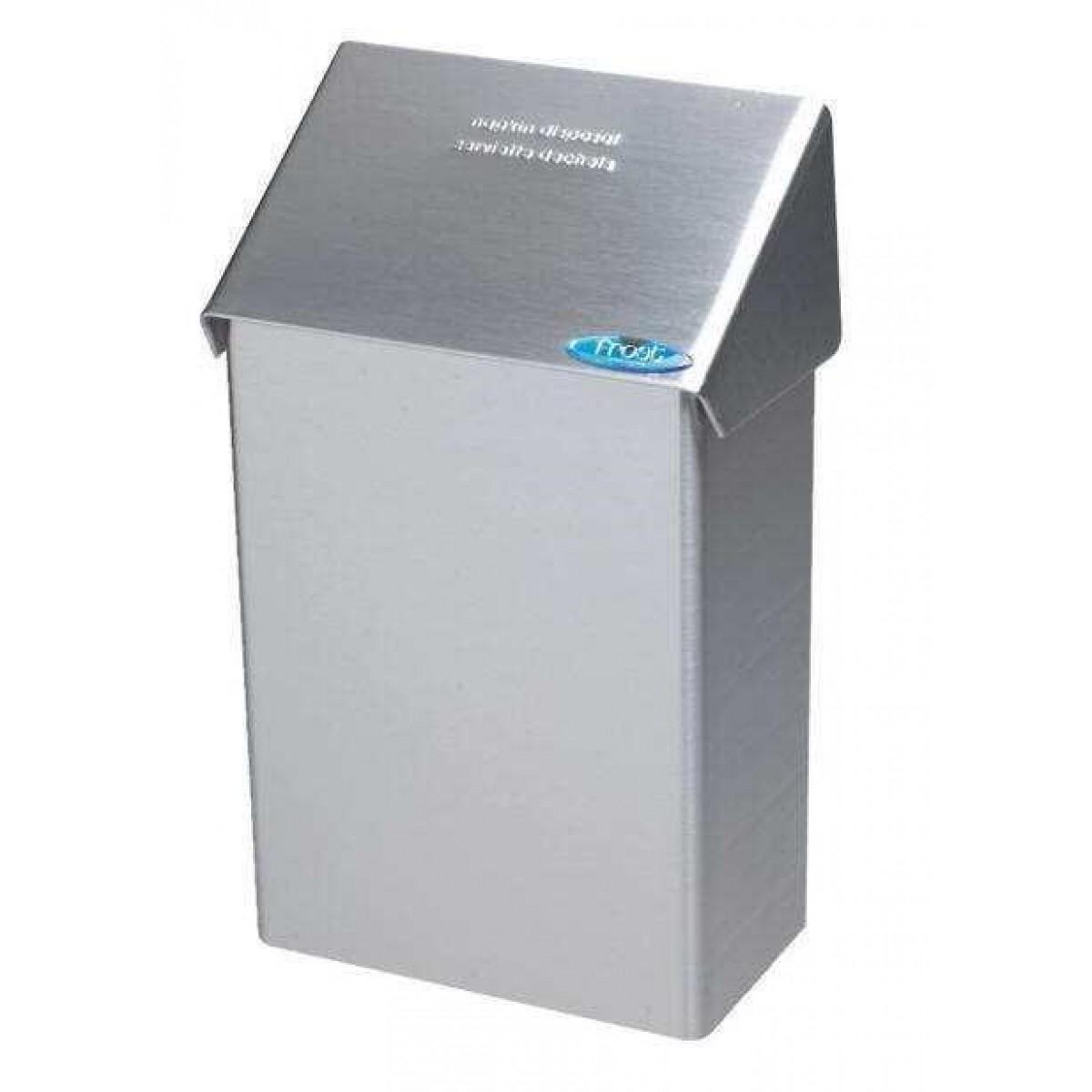 Poubelle En Acier Inoxydable Pour Serviettes Hygiéniques concernant Poubelle Toilette