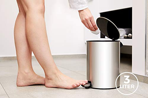 Poubelles Design Pour La Salle De Bain Ou Les Toilettes concernant Poubelle Toilette
