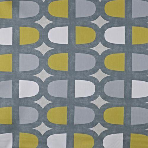 Prestigious-Textiles-Docklands-Geometrique-Gris-Jaune-100 serapportantà Rideau Gris Jaune