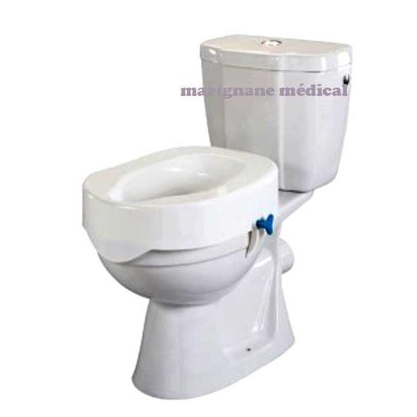 Rehausse Wc Rehotec 13 Cm - Adaptable Sur Tous Les Wc encequiconcerne Toilette Rehausse
