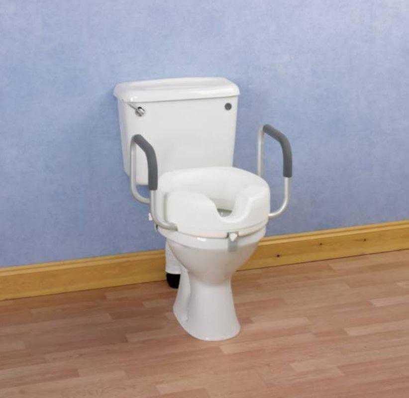 Rehausseur De Wc Avec Accoudoirs, Rehausseur Wc Avec tout Toilette Rehausse