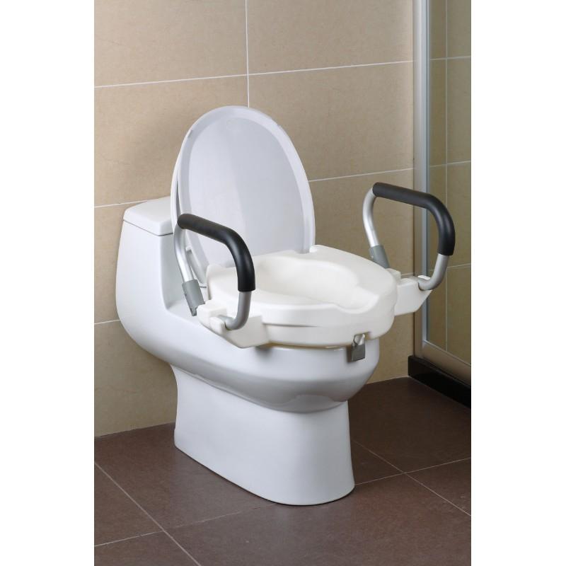 Réhausseur Wc Avec Accoudoirs destiné Toilette Personne Agée