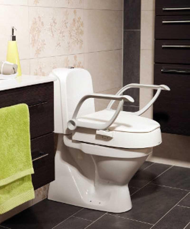 Rehausseur Wc Avec Accoudoirs, Rehausse Wc, Rehausseur Wc avec Toilette Rehausse