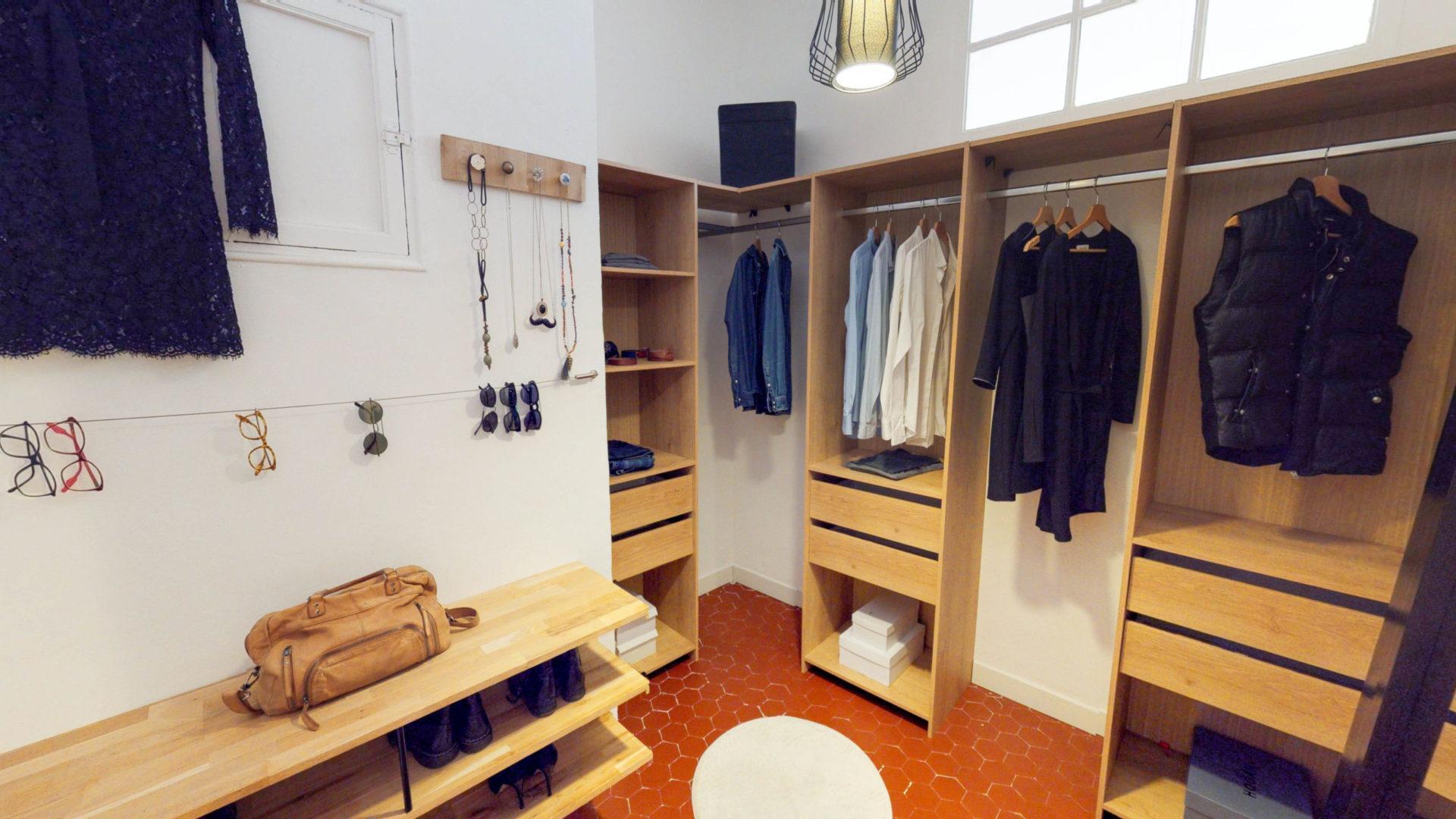 Rénovation Et Aménagement D'un Appartement Marseillais 08 destiné Aménagement Cheminée Condamnée
