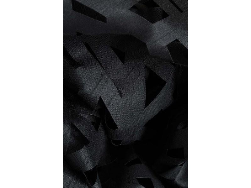 Rideau 140 X 240 Cm Motif Lasercut Abstrait À 8 Œillets serapportantà Rideau Decoupe Laser