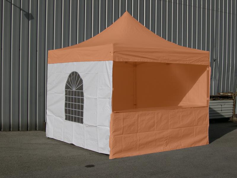 Rideau, Côté Ou Mur Avec Fenêtre De 3 Mètres Pour Stand dedans Rideau De Tonnelle