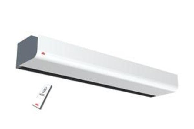 Rideau D'Air Chaud Électrique Horizontal Compact Monophasé tout Rideau Horizontal