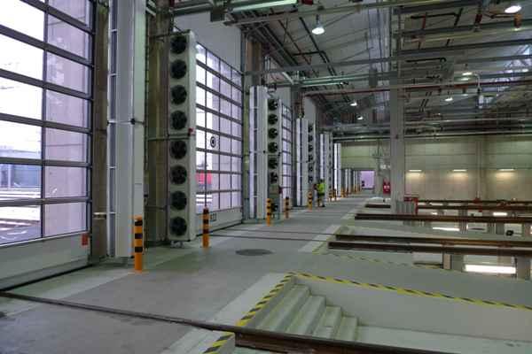 Rideau D'Air Chaud - Industriel - Encastrable Et Vertical avec Rideau Horizontal