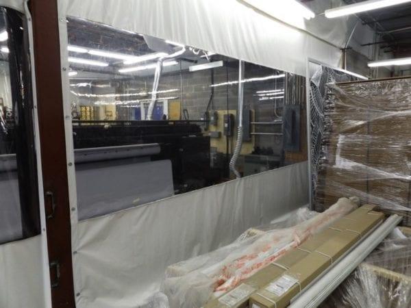 Rideau De Plastique Industriel - Rideau Industriel avec Rideau Plastique Industriel