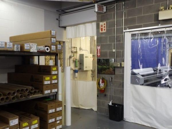 Rideau De Plastique Industriel - Rideau Industriel encequiconcerne Rideau Plastique Industriel