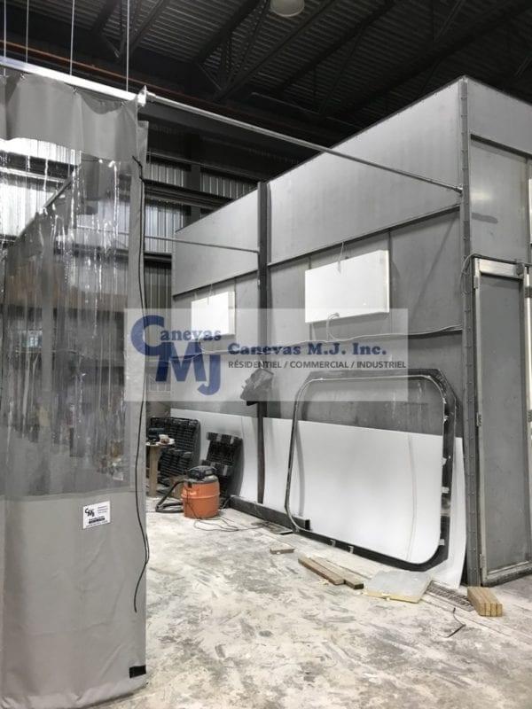 Rideau De Plastique Industriel - Rideaux Séparateurs pour Rideau Plastique Industriel
