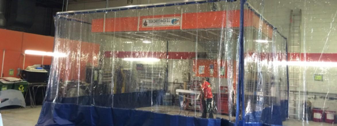 Rideau De Plastique Transparent Industriel - Rideau avec Rideau Plastique Industriel