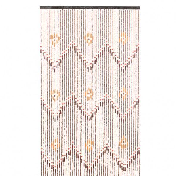 Rideau De Porte (90 X 200 Cm) Perles Migina Marron concernant Rideau De Porte Fantaisie