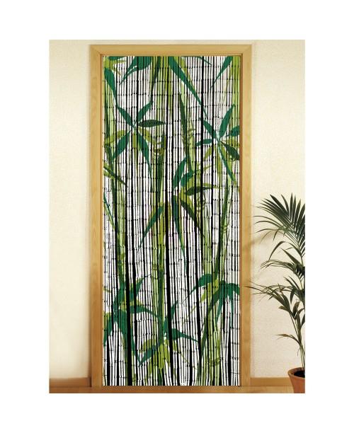 Rideau De Porte - Bambou - Bamboo - Decoandgo à Rideau De Porte En Bambou