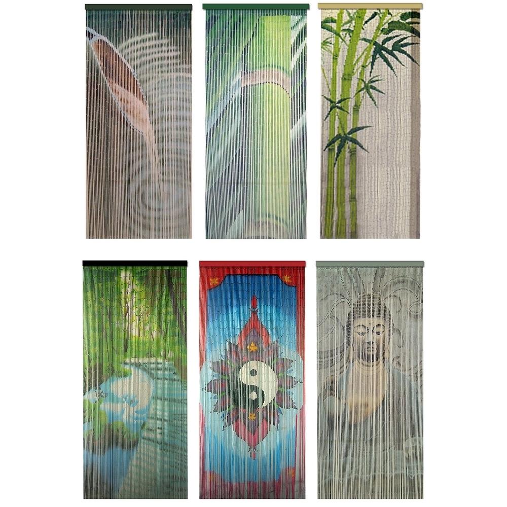 Rideau De Porte Bambou destiné Rideau De Porte Castorama