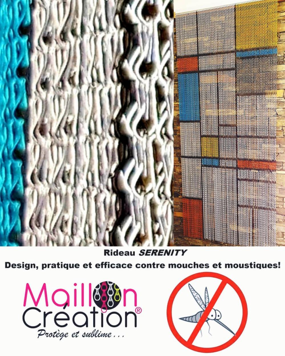 Rideau De Porte En Chainette D'Aluminium. Rideau De Porte encequiconcerne Rideau De Porte Anti Mouche