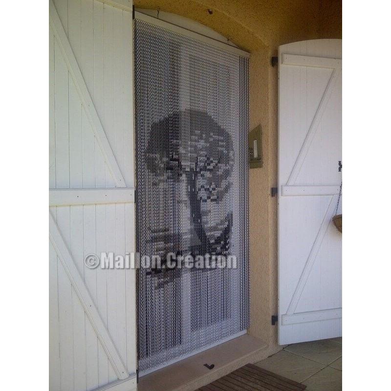 Rideau De Porte Exterieur | Exterieur - Brico tout Rideau De Porte Gifi