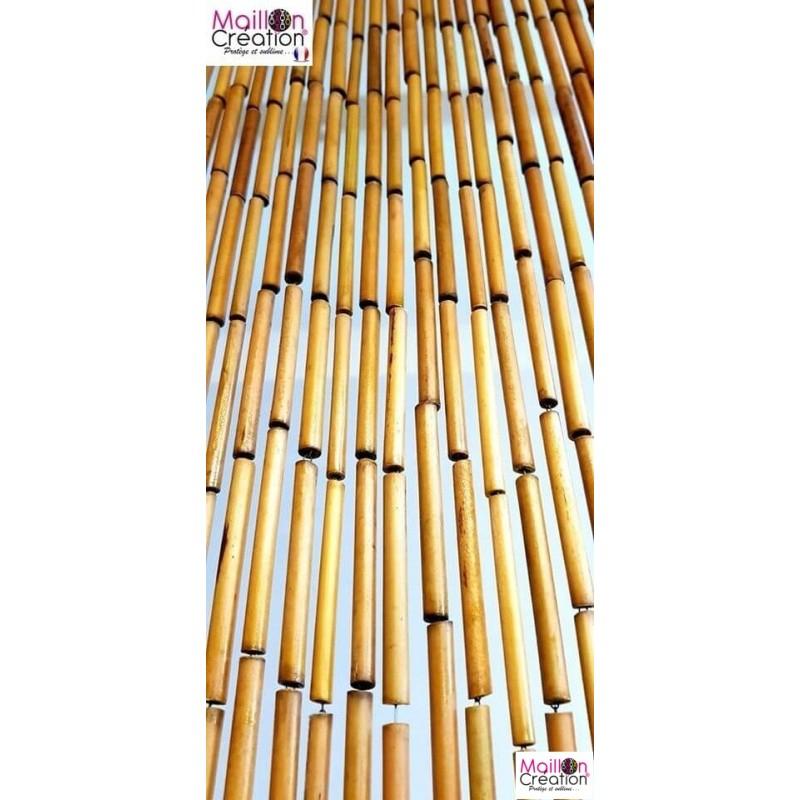 Rideau De Porte - Mailloncréation dedans Rideau De Porte Bambou