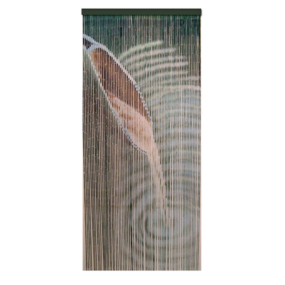 Rideau De Porte Moustiquaire Bambou Feng Shui Zen destiné Rideau De Porte En Bambou