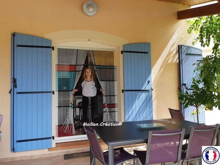 Rideau De Porte, Rideau De Porte Anti Mouches | Rideaux dedans Rideau De Porte Exterieur Anti Mouche