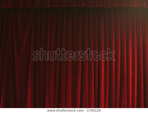 Rideau De Theatre Stock Photo (Edit Now) 1745129 à Rideau De Theatre