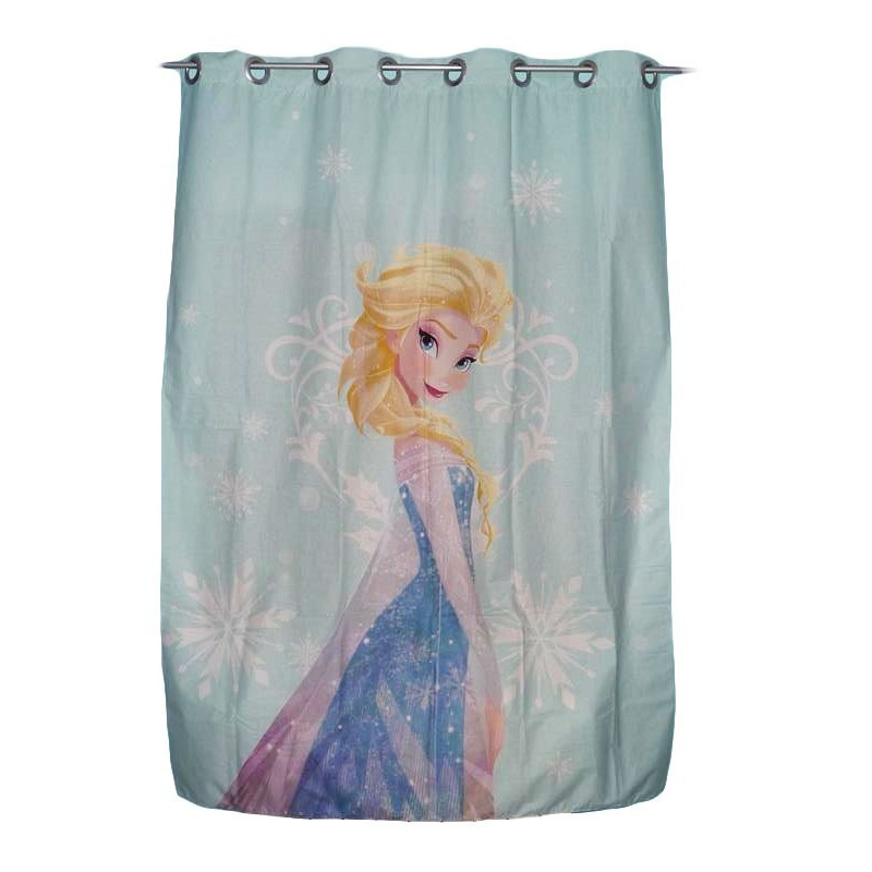 Rideau Enfant - Reine Des Neiges - (130 X 190 Cm) pour Rideau Enfant Fille