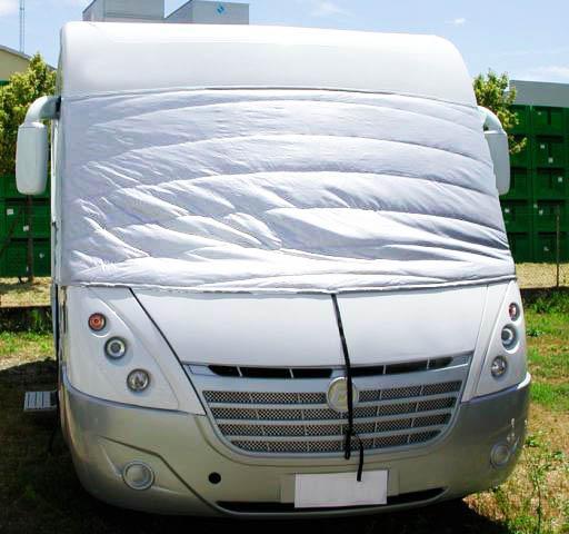 Rideau Exterieur Coverwhite Nrf Camping-Car Cabine serapportantà Rideau Isotherme Exterieur Camping Car