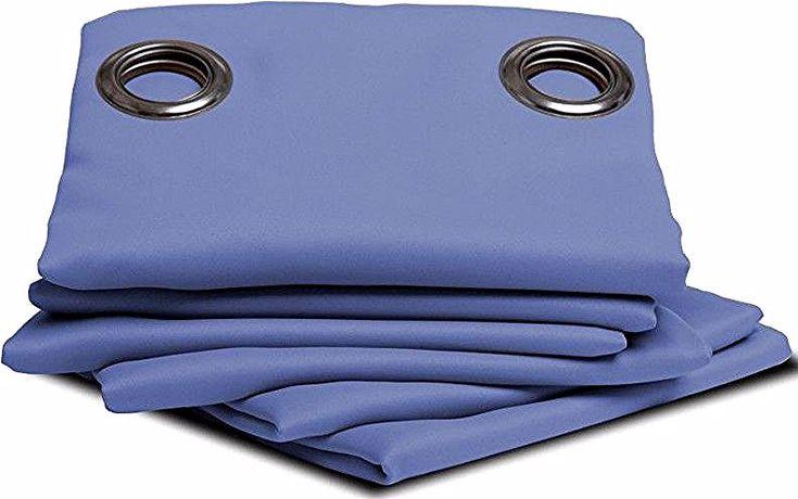 Rideau Isolant Moondream Thermique Eté-Hiver - Bleu dedans Rideau Isolant Thermique Hiver