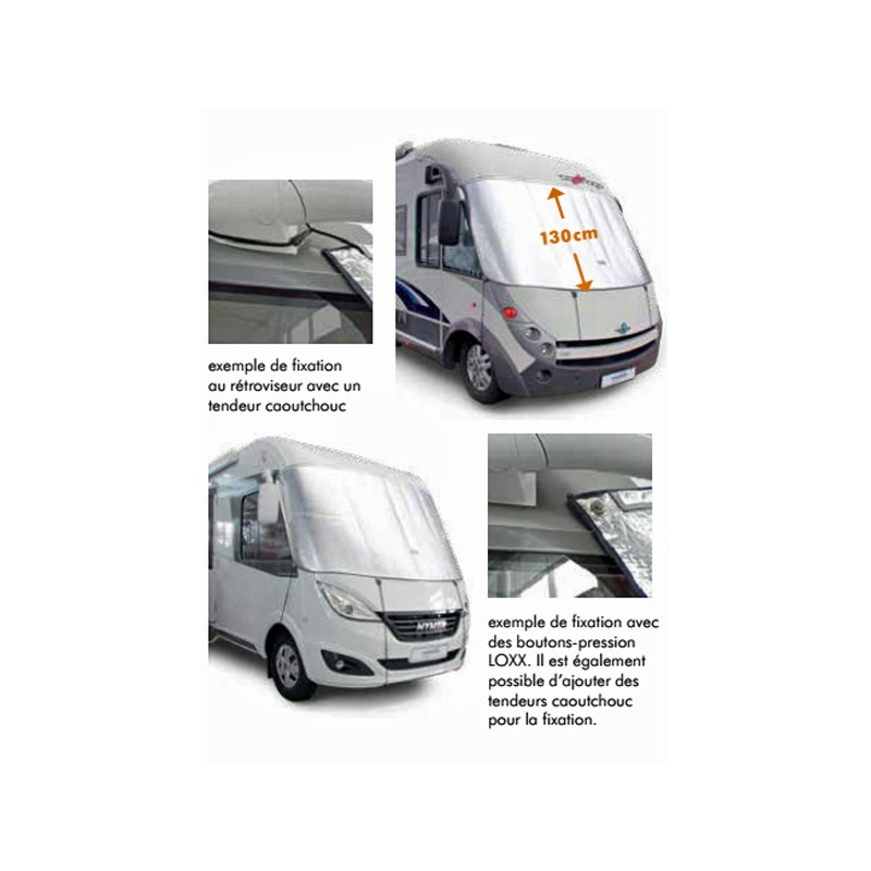 Rideau Isolant Universel Hindermann À Prix Réduit Pour intérieur Rideau Isotherme Exterieur Camping Car