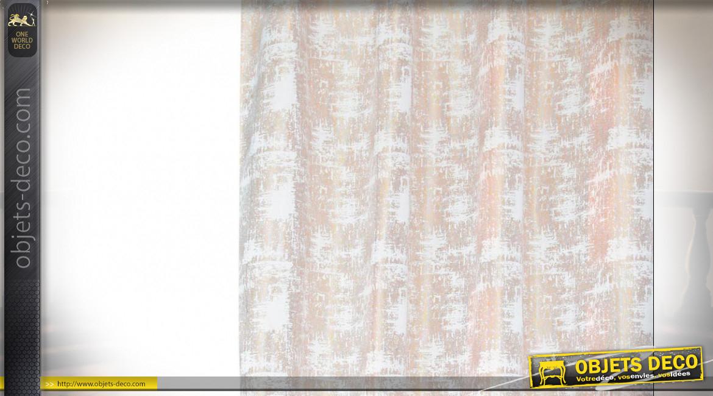 Rideau Polyester 140X270 160 Gsm. Abstrait concernant Rideau Hauteur 160