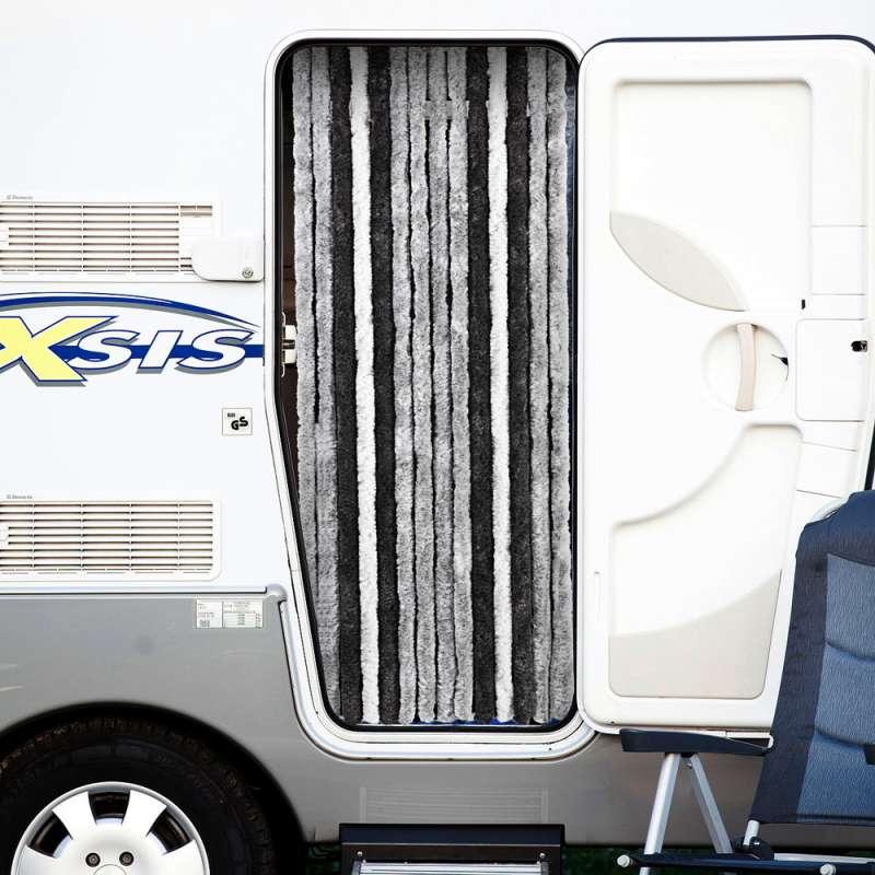 Rideau Porte Chenille | Accessoire De Camping Car encequiconcerne Rideau De Porte Exterieur