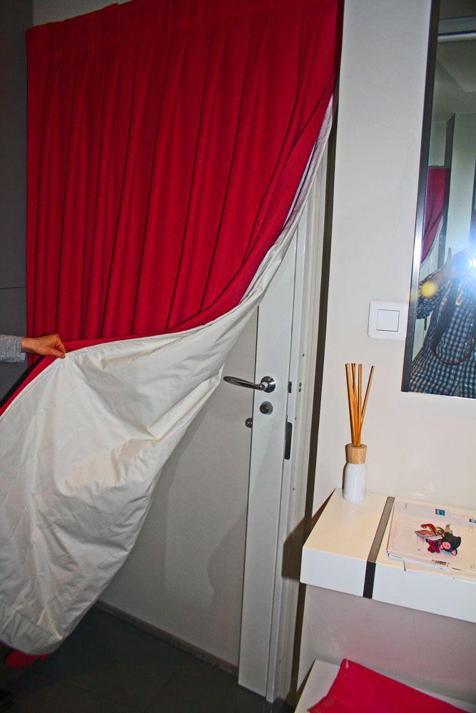 Rideau-Portière Pour Isoler Une Porte D'Entrée Du Froid Et intérieur Rideau Isolation Phonique