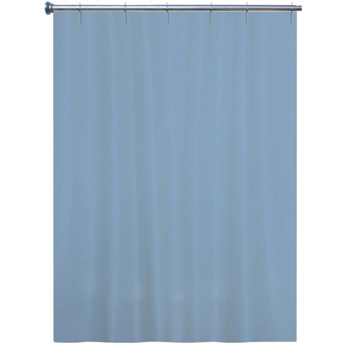 Rideau Textile Arvix - Bleu Gris- Longueur 180 Cm avec Rideau Hauteur 180