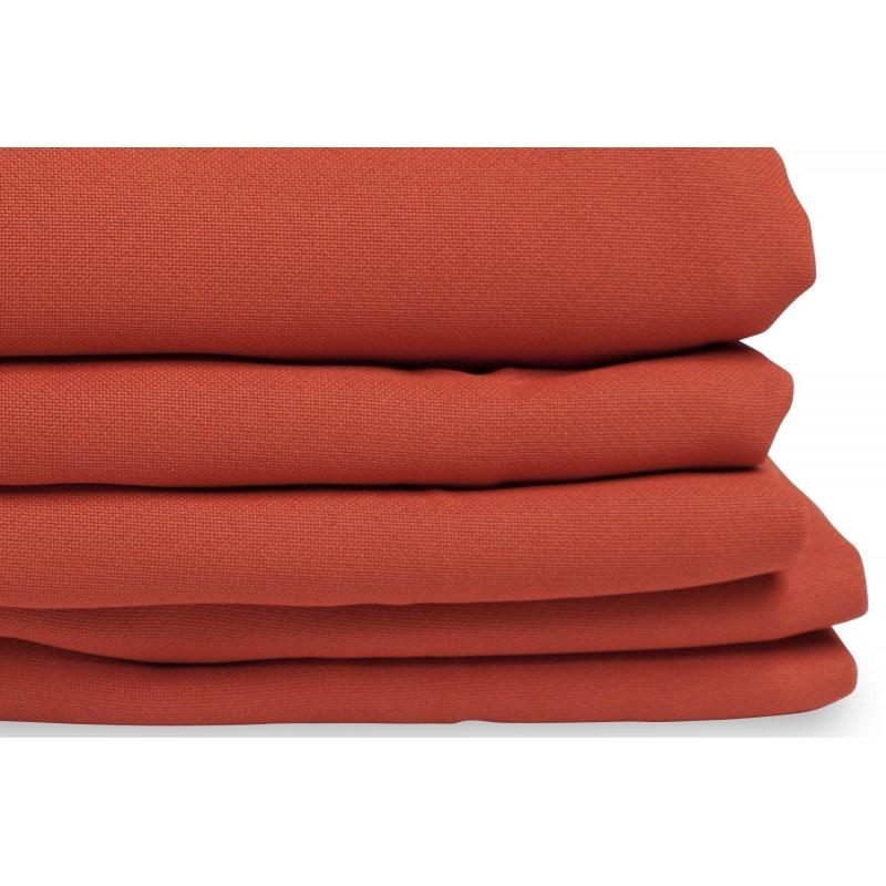 Rideau Thermique Et Occultant Sur Mesure Orange Rouille destiné Rideau Isolant Thermique Hiver