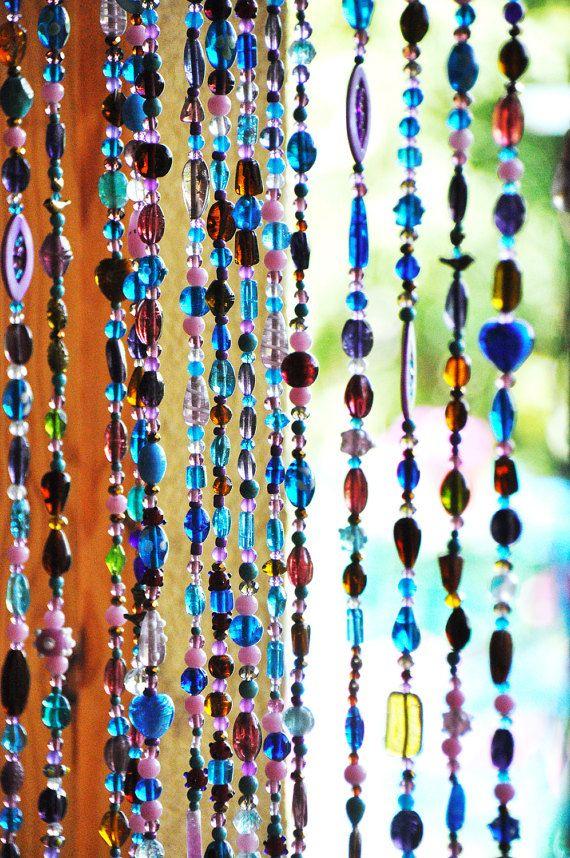 Rideaux De Perles En Verre - Recherche Google | Rideau avec Rideau En Perle