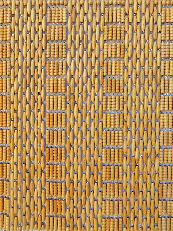Rideaux En Perle De Buis Traditionnels: Rideau En Perle De intérieur Rideau De Porte Perles Olives En Bois