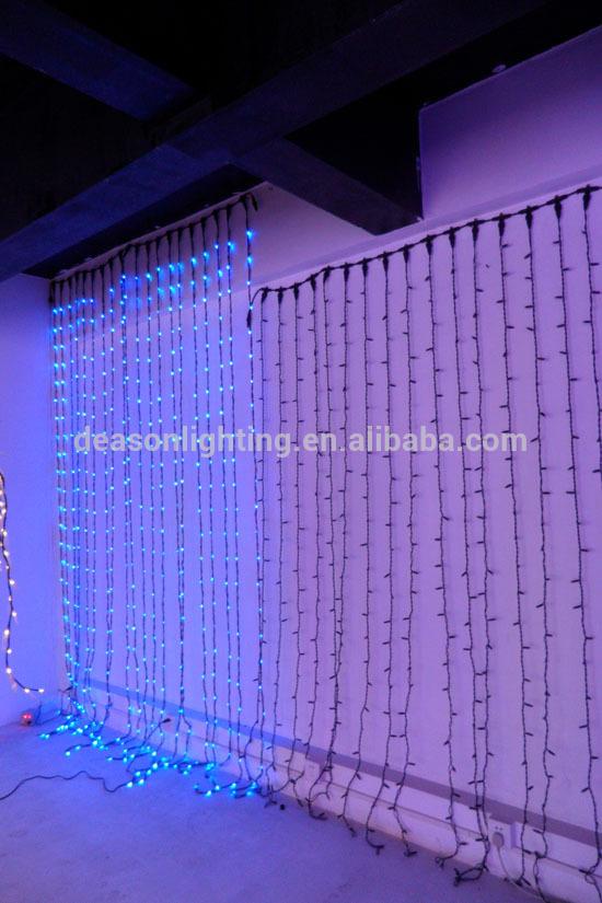 Rideaux Lumineux En Organza Et Dipimpin-Lampu Liburan-Id avec Rideau En Organza Lumineux