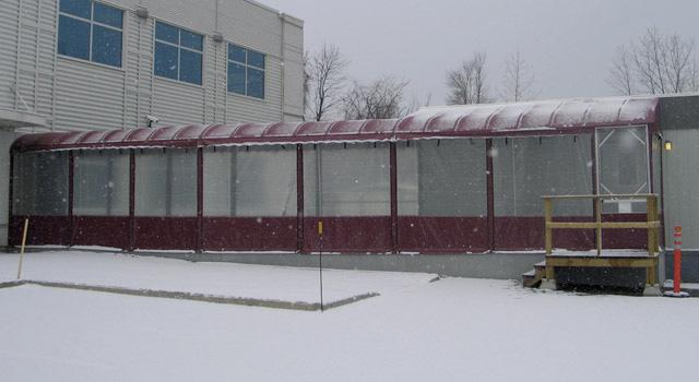 Rideaux, Moustiquaires Et Accessoires - Décor Au Vent concernant Rideau Plastique Transparent Pour Terrasse
