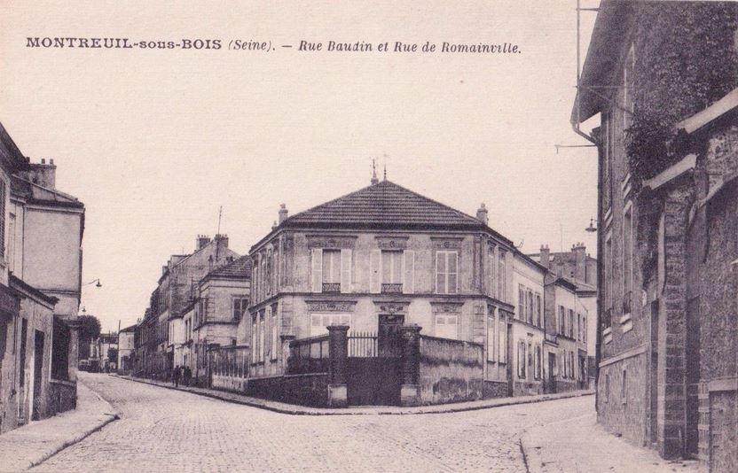Rue De Romainville (Montreuil) — Wikipédia intérieur Carrefour Sept Chemins