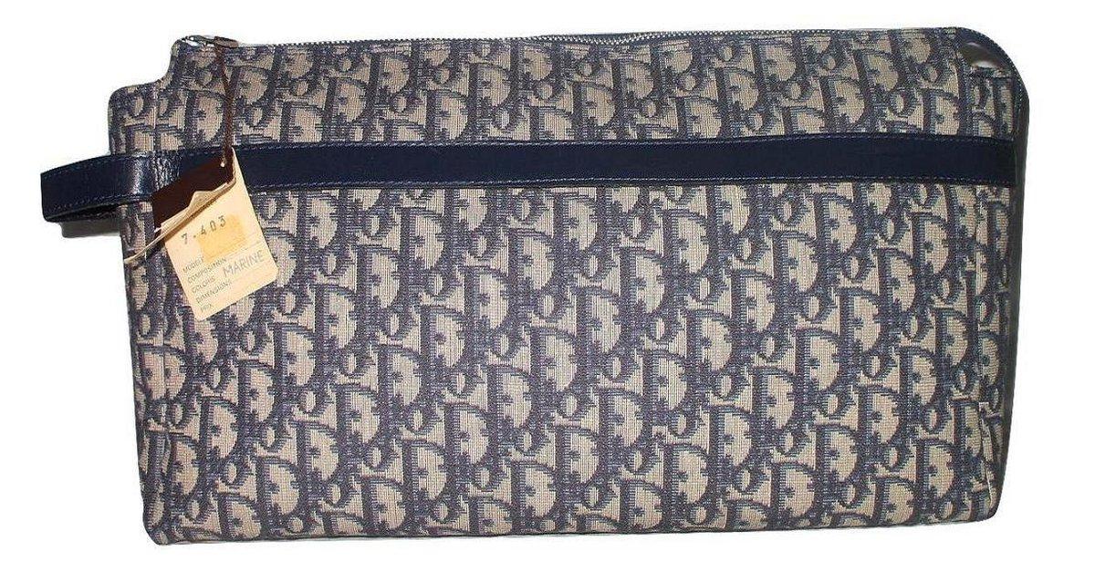 Sacs Christian Dior Vintage Trousse De Toilette Sport Et dedans Trousse De Toilette Dior