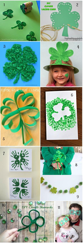 Saint Patrick: 27 Idées D'Activités Manuelles Pour Les concernant Trefle Papier Toilette