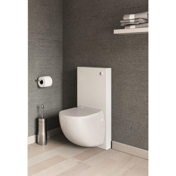 Sanibroyeur Comfort Box Wc Suspendu Avec Broyeur Blanc pour Toilette Sanibroyeur