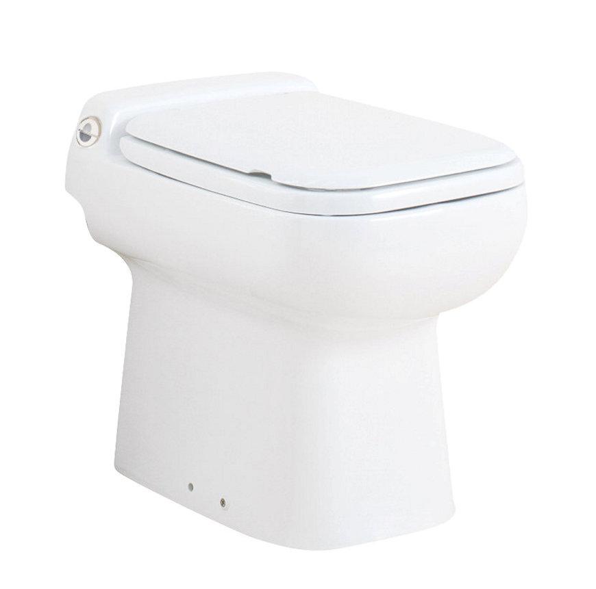 Sanibroyeur® Compact Toilet, Type Sanicompact® Luxe destiné Toilette Sanibroyeur