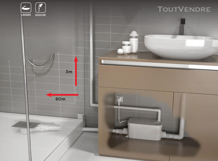 Sanibroyeur Wc Pompe De Relevage Broyeur Pour Toilette pour Toilettes Sanibroyeur