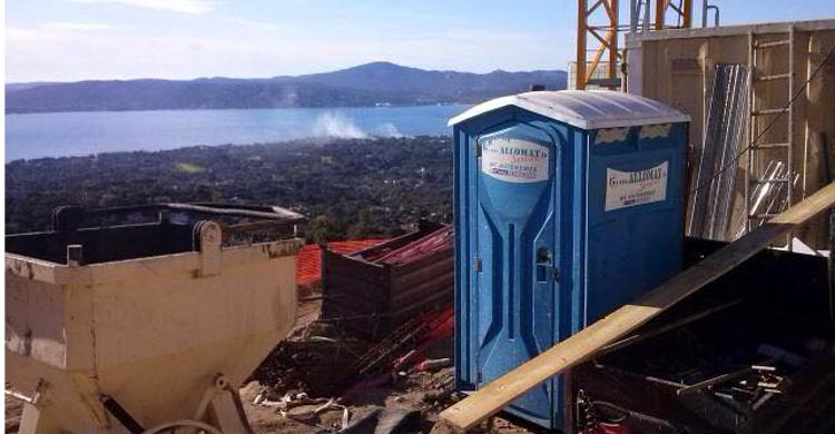 Sanimat : Location De Toilette Wc Chimique De Chantier intérieur Prix Location Toilette Chimique