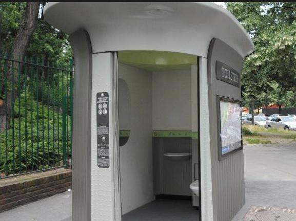 Sanisette Hours Extended serapportantà Toilette Publique Paris