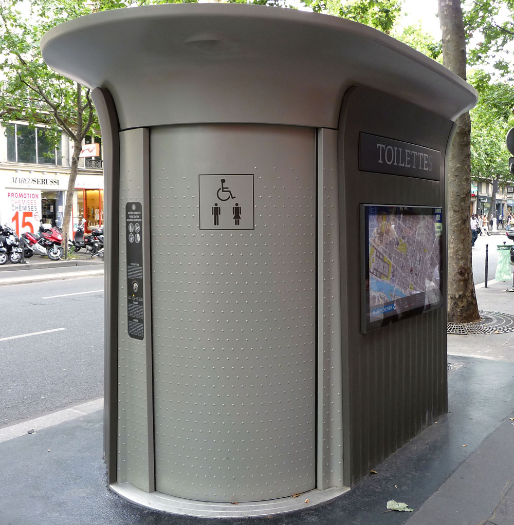 Sanisette - Wikipedia serapportantà Toilette Publique Paris