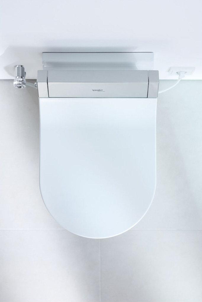 Sensowash Starck: High-Tech Shower Toilet By Duravit avec Toilette Starck